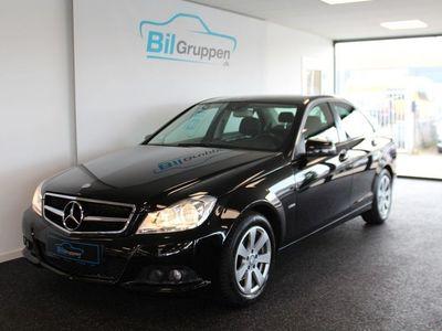 brugt Mercedes C220 2,2 CDi Elegance aut. BE