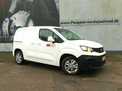 brugt Peugeot Partner 1,5 BlueHDi 130 L1V1 Ultimate EAT8