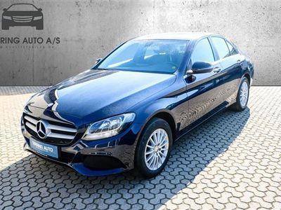 brugt Mercedes C200 2,0 184HK - Personbil - mørkblåmetal