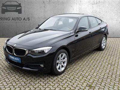 brugt BMW 320 d 2,0 EfficientDyn. 184HK 6g - Personbil - sort