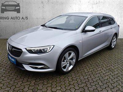 brugt Opel Insignia Sports Tourer 1,5 Turbo Dynamic Start/Stop 165HK Stc 6g - Personbil - sølvmetal