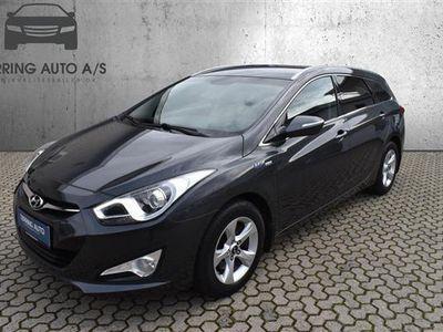 brugt Hyundai i40 1,7 CRDi Comfort 115HK Stc 6g - Personbil - Koksgrå