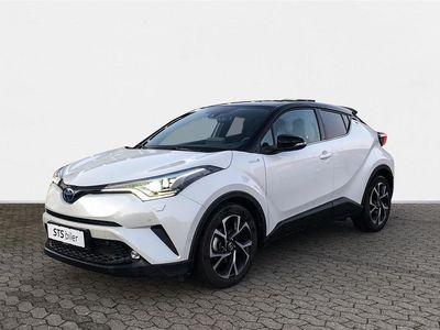 brugt Toyota C-HR 1,8 B/EL Premium Selected Bi-tone Multidrive S 122HK 5d Aut.