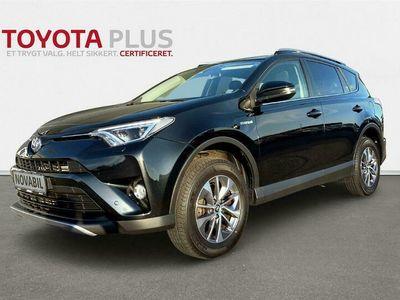 brugt Toyota RAV4 2,5 Hybrid H3 Safety Sense 4x2 197HK 5d 6g Aut. A+