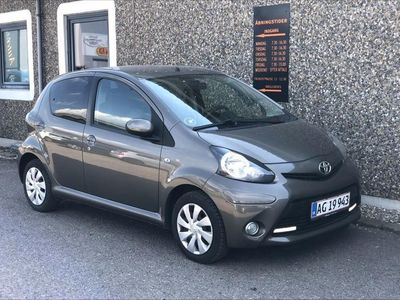 used Toyota Aygo 1,0 VVT-I T2 Air 68HK 5d