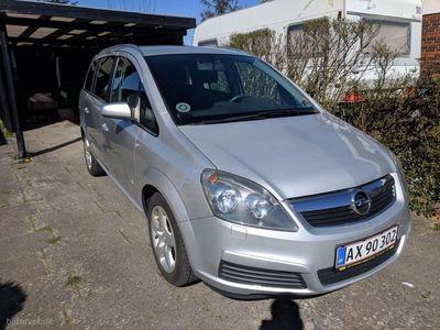 used Opel Zafira 1,8 16V Limited 140HK