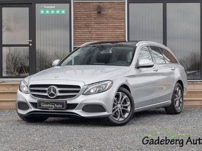 brugt Mercedes C200 1,6 BlueTEC Avantgarde stc. aut.
