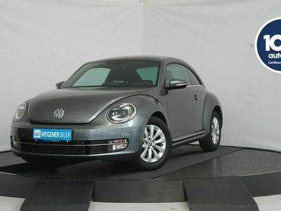 brugt VW Beetle The1,6 TDi 105 Design DSG BMT