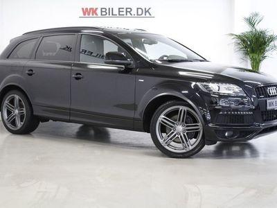 brugt Audi Q7 3,0 TDi 245 S-line quat. Tiptr Van