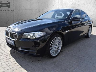 brugt BMW 530 d 3,0 D Steptronic 258HK 8g Aut. - Personbil - sortmetal