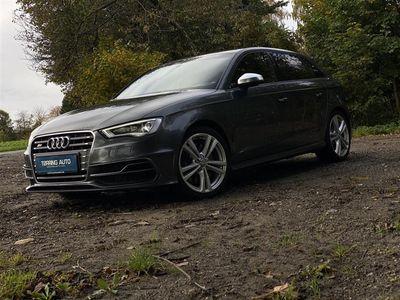 brugt Audi S3 Sportback 2,0 TFSI Quat S Tron 300HK 5d 6g Aut. - Personbil - Gråm