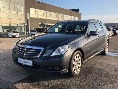 brugt Mercedes E220 2,1 CDI BlueEfficiency 170HK Van Aut.