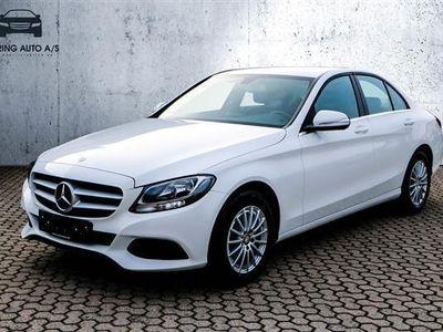 brugt Mercedes C200 2,0 184HK 6g - Personbil - hvid