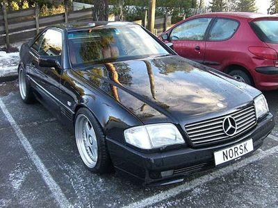 brugt Mercedes SL500 5,0 326HK Cabr. Aut.