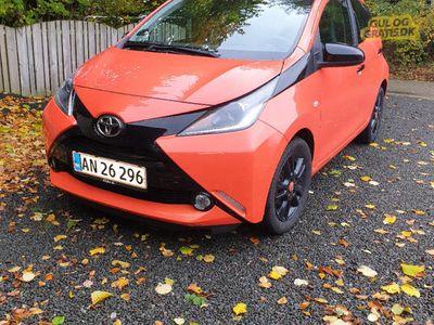 brugt Toyota Aygo X-Cite Orange