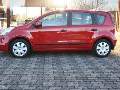 brugt Nissan Note 1,4 16V Visia A/C 88HK Stc