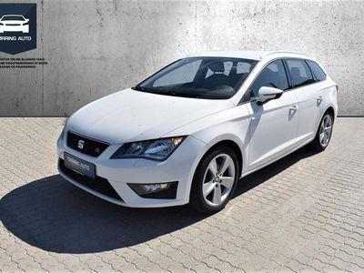 brugt Seat Leon 2,0 TDI FR Start/Stop DSG 150HK Stc 6g Aut. - Personbil - Hvid