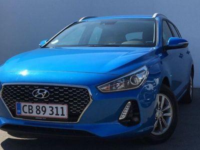 brugt Hyundai i30 Cw 1,6 CRDi Select 110HK Stc 6g