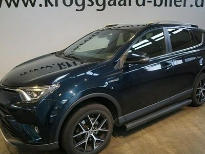 brugt Toyota RAV4 2,5 Hybrid H3+ Safety Sense 4x2 197HK 5d 6g Aut.