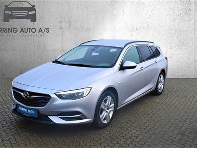 brugt Opel Insignia Sports Tourer 1,5 Turbo Enjoy Start/Stop 140HK Stc 6g - Personbil - sølvmetal