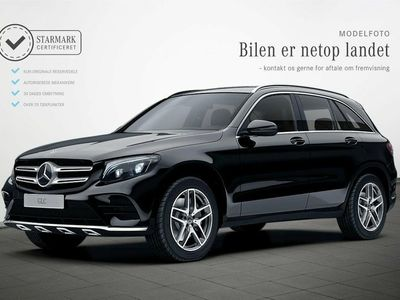 used Mercedes GLC350 d 3,0 AMG Line aut. 4-M