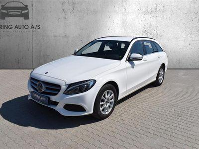 brugt Mercedes C220 d T 2,1 Bluetec 9G-Tronic 170HK Stc 9g Aut. - Personbil - Hvid