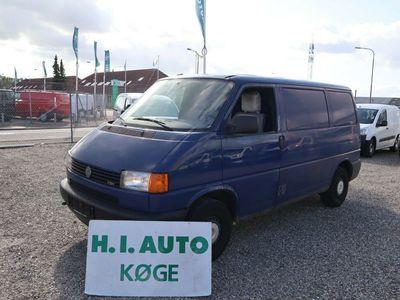 brugt VW Transporter 2,5 TDi 88 Kassevogn kort