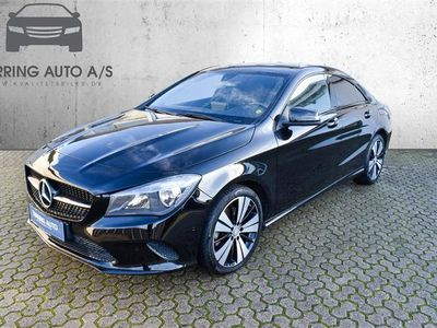 brugt Mercedes CLA250 2,0 7G-DCT 211HK 4d 7g Aut. - Personbil - sort