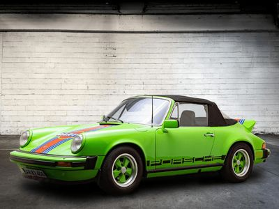 brugt Porsche 911S Cabriolet