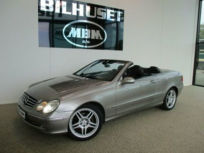 brugt Mercedes CLK320 3,2 Cabriolet Avantgarde aut.