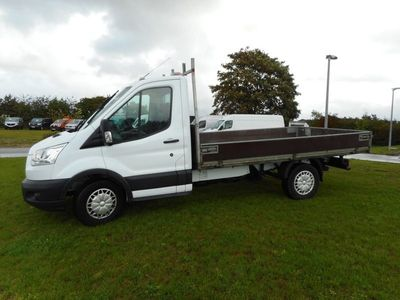 brugt Ford Transit 350 L3 Chassis 2,2 TDCi 125 Ambiente H1 RWD