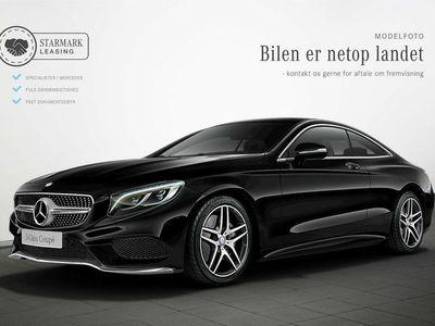 brugt Mercedes S500 4,7 Coupé aut. 4-M