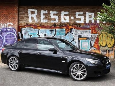 brugt BMW M5 5,0 507HK Trinl. Gear - Personbil - Sortmetal