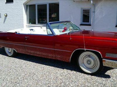 brugt Cadillac Deville cabriolet