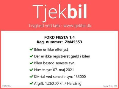 usata Ford Fiesta 1,4 Trend 80HK 5d