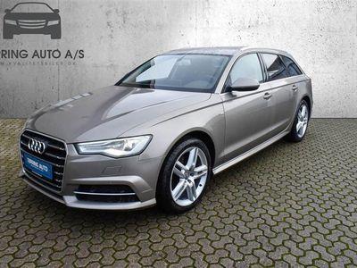 brugt Audi A6 Avant 2,0 TDI Ultra S Tronic 190HK Stc 7g Aut. - Personbil - dakotagrå metal