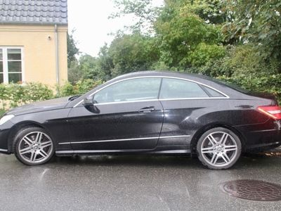 brugt Mercedes E350 CDI BlueEFFICIENCY Coupé 7G-TRONIC PLUS