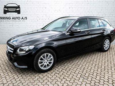 brugt Mercedes C200 T 1,6 Bluetec 136HK Stc 6g - Personbil