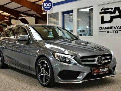 brugt Mercedes C200 AMG Line stc. aut.