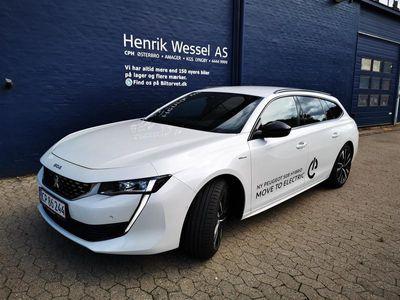 brugt Peugeot 508 SW 1,6 PureTech GT EAT8 start/stop 225HK Stc 8g Aut. A+++