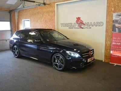 brugt Mercedes C220 d AMG Line stc. aut.