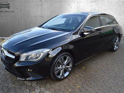 used Mercedes CLA200 Shooting Brake 1,6 156HK Stc 6g - Personbil - Sort