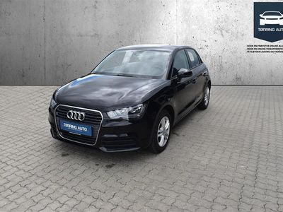 brugt Audi A1 Sportback 1,2 TFSI Attraction 86HK 5d - Personbil - Sort