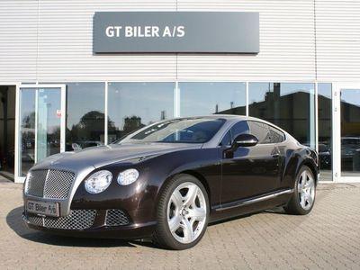 brugt Bentley Continental GT 6,0 W12 aut.