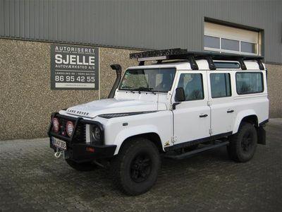 """brugt Land Rover Defender 110"""" 2,4 TD5 4x4 122HK 6g"""