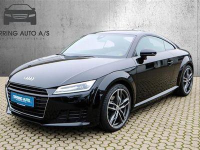 gebraucht Audi TT 2,0 TFSI S Tronic 230HK 2d 6g Aut. - Personbil - sort