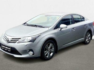 brugt Toyota Avensis 1,8 VVT-I T2 Premium 147HK 6g C