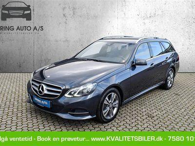 brugt Mercedes E220 T 2,1 CDI BlueEfficiency 170HK Stc 7g Aut. - Personbil - gråmetal
