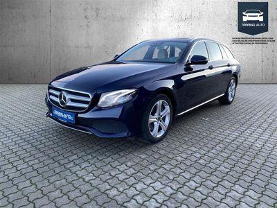 brugt Mercedes E350 T 3,0 Bluetec 9G-Tronic 258HK Stc 9g Aut. - Personbil - Mørkblåmetal