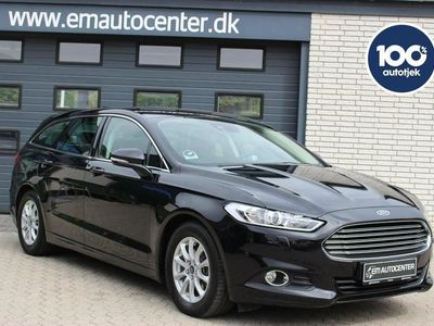 brugt Ford Mondeo 2,0 TDCi 150 Trend st.car ECO